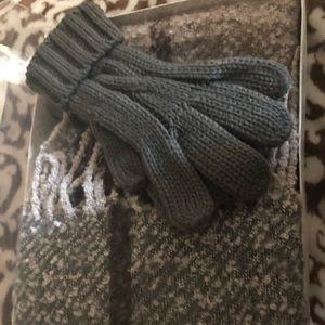Brand new scarf and glove set beautiful